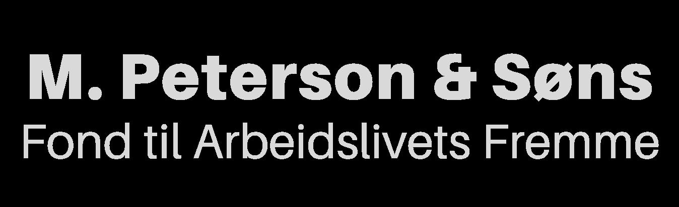M. Peterson & Søns Fond til Arbeidslivets Fremme