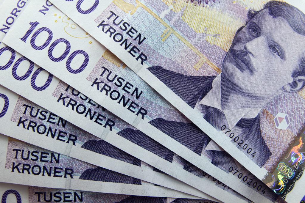 Illustrasjonsfoto av norske 1000-kronerssedler.